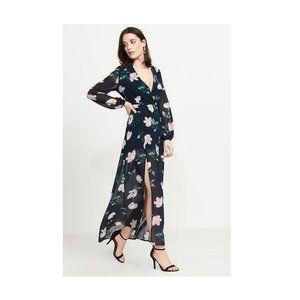 NWOT long floral dress
